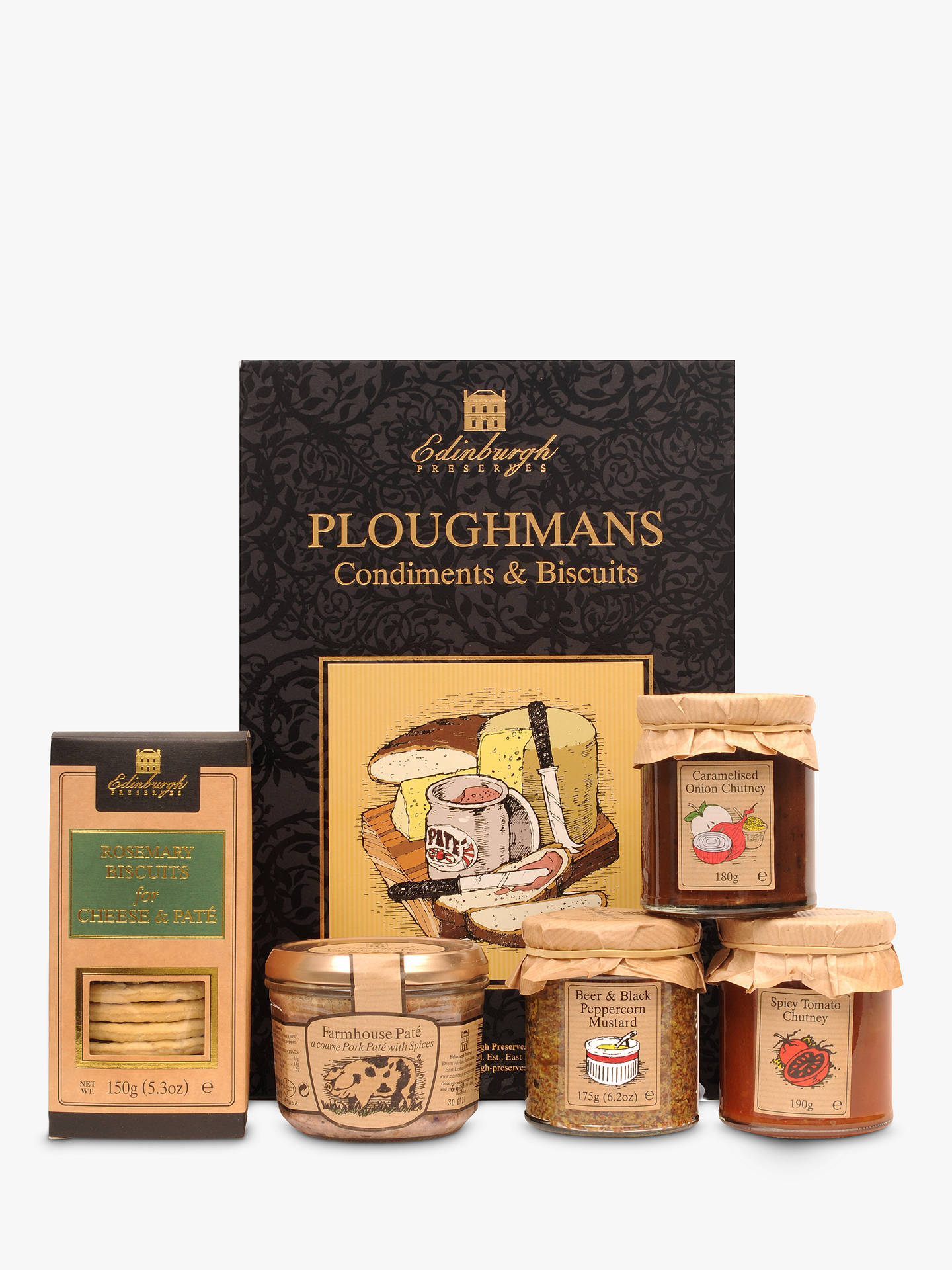 Edinburgh Preserves Ploughmans Box 885g