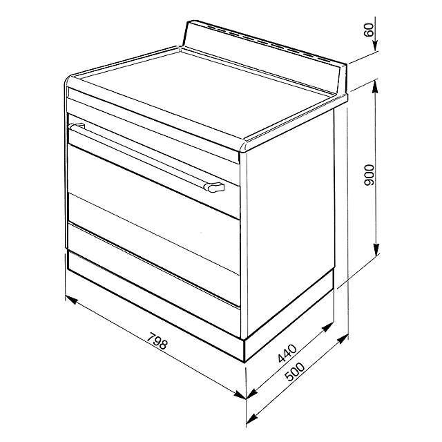 smeg suk81mfx8 dual fuel range cooker  stainless steel at