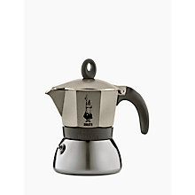 Buy Bialetti Moka Induction Coffee Maker, 6 Cup Online at johnlewis.com