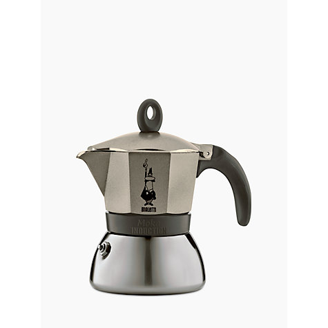 Bialetti Moka Induction Coffee Maker 6 Cup Online At Johnlewis
