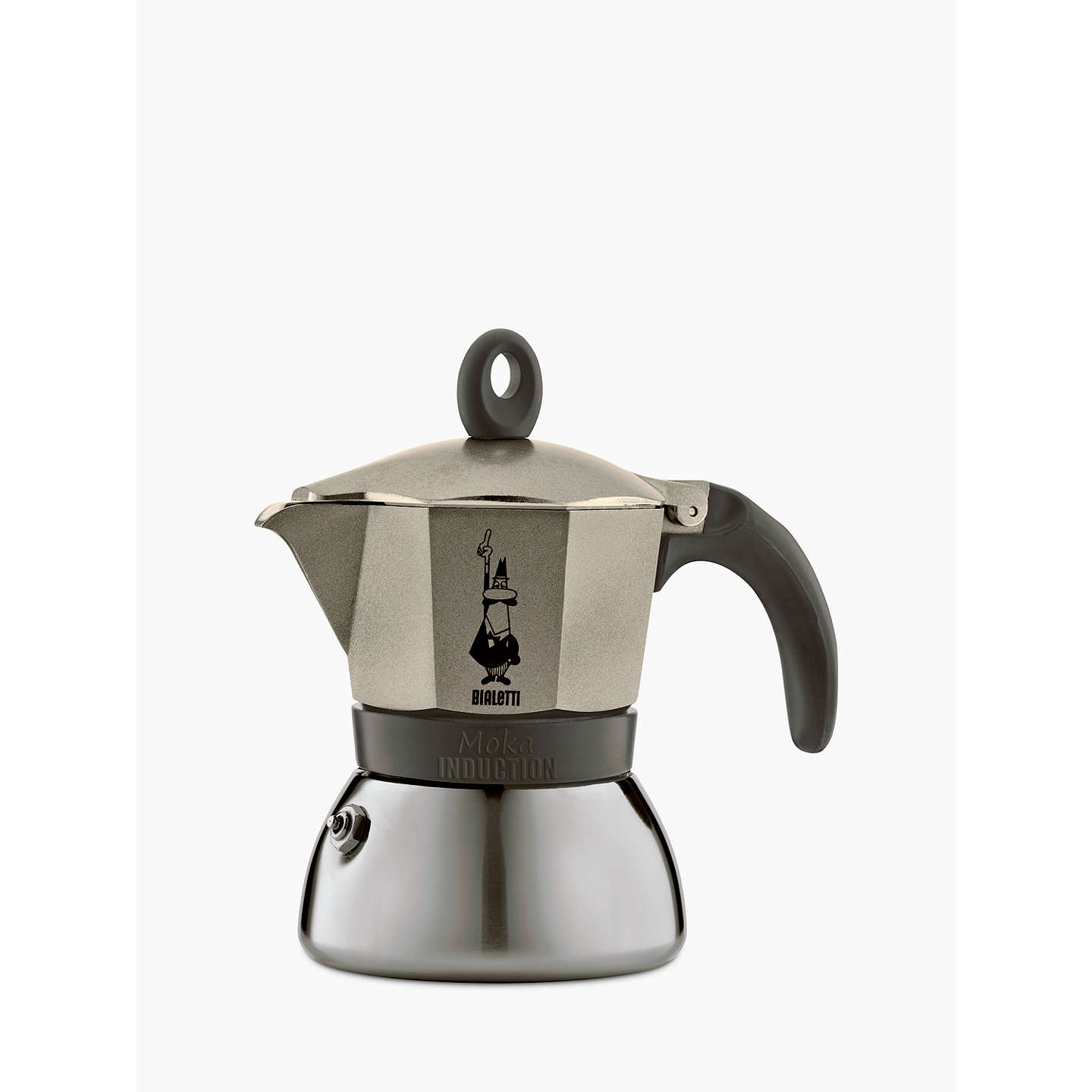 bialetti moka induction coffee maker 6 cup at john lewis. Black Bedroom Furniture Sets. Home Design Ideas