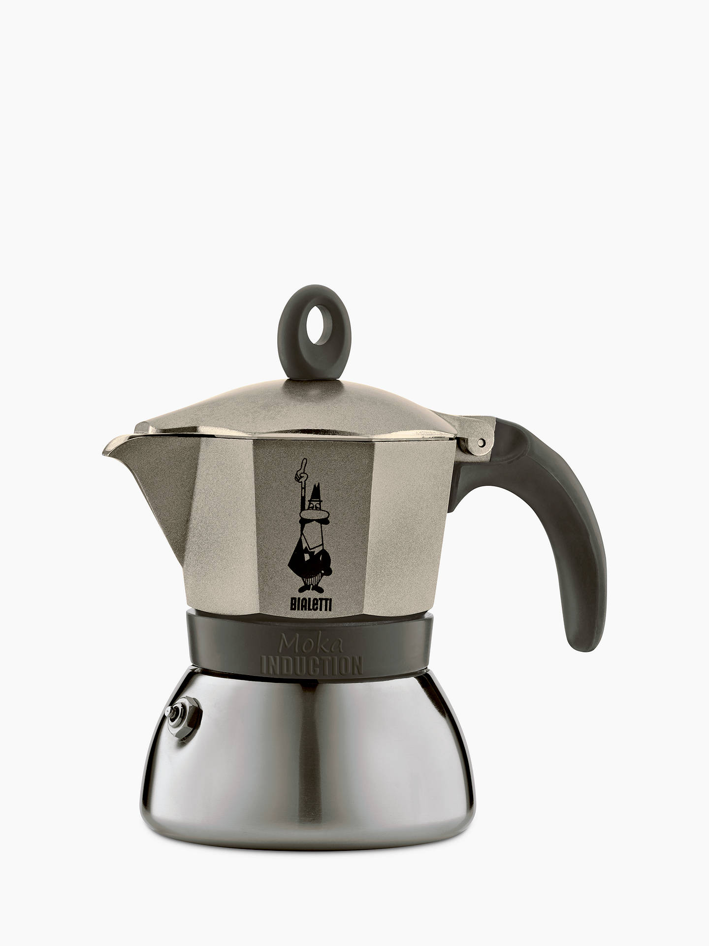 Bialetti Moka Induction Coffee Maker 3 Cup Online At Johnlewis