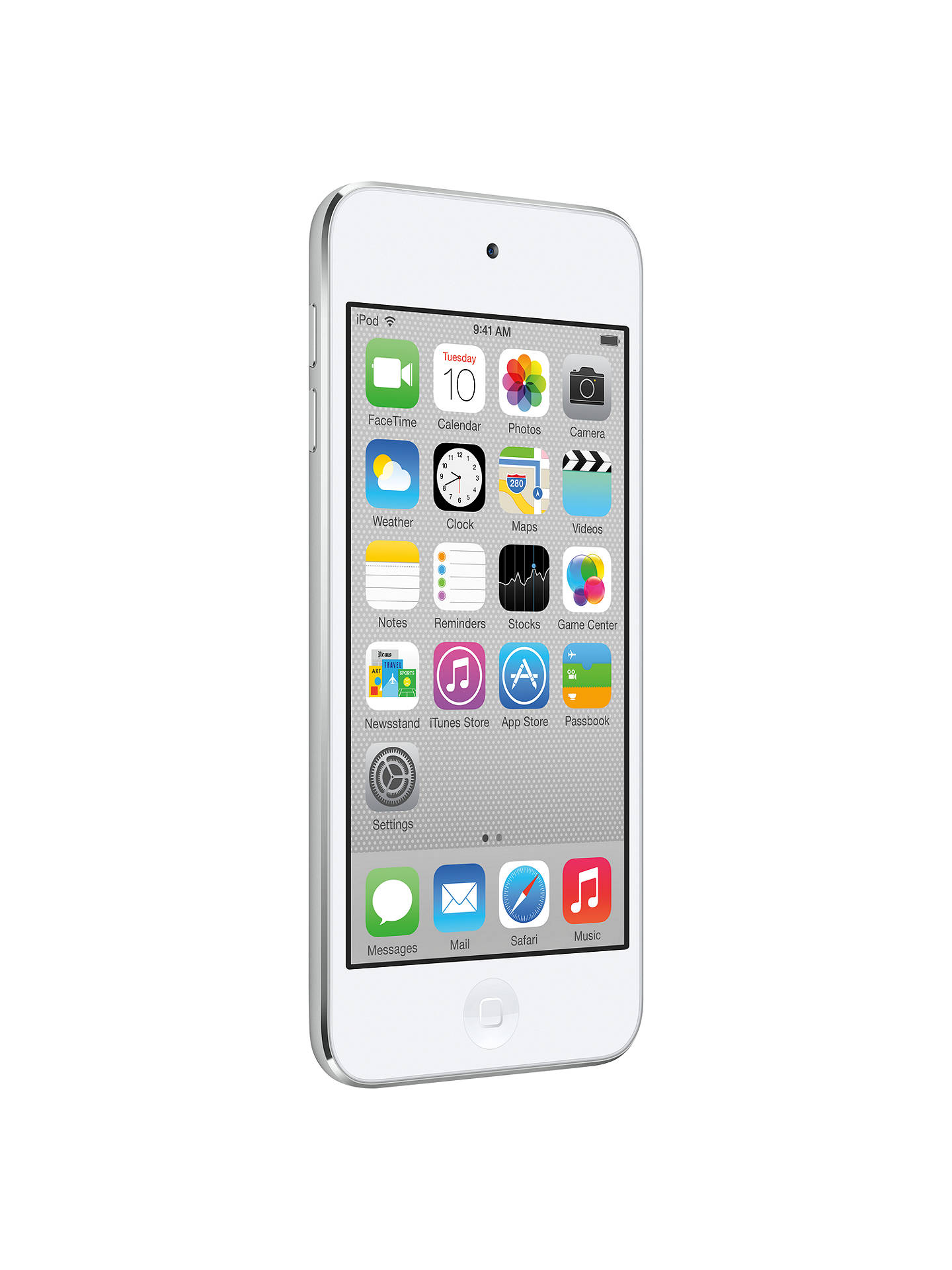 Apple Ipod Touch 5th Generation At John Lewis Partners 6 16gb Gold Buyapple White Silver Online Johnlewis