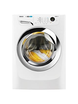 Zanussi ZWF91483WH Washing Machine, 9kg Load, A+++ Energy Rating, 1400rpm Spin, White