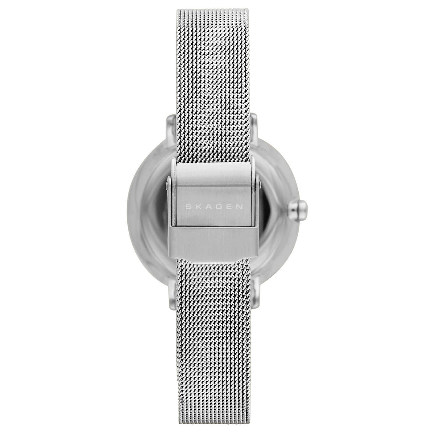 BuySkagen SKW2211 Women's Ditte Stainless Steel Mesh Bracelet Strap Watch, Silver Online at johnlewis.com