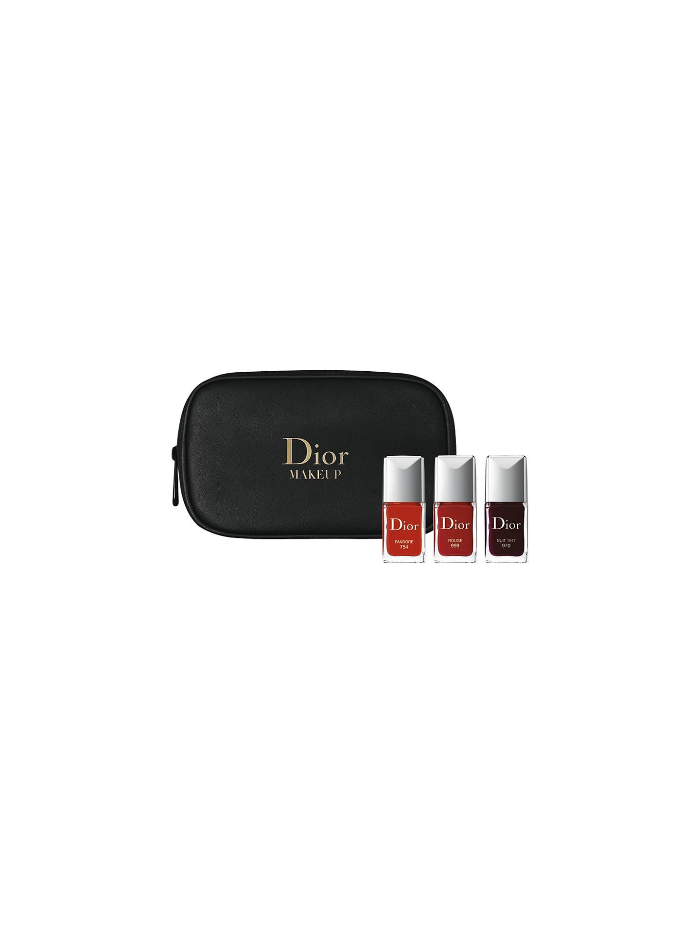 Dior Vernis Nail Polish Set at John Lewis & Partners