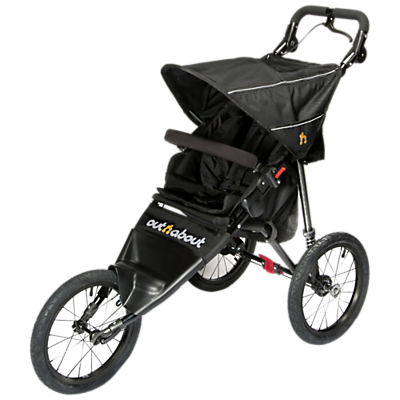 Out 'N' About Nipper Sport V4 Pushchair, Black