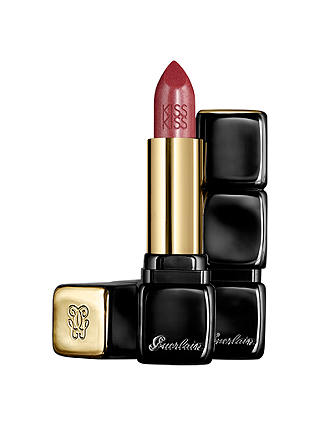 Buy Guerlain Kiss Kiss Lipstick, 363 Fabulous Rose Online at johnlewis.com
