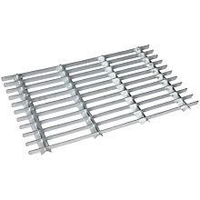 Buy Garden Trading Galvanised Metal Grille Door Mat Online at johnlewis.com