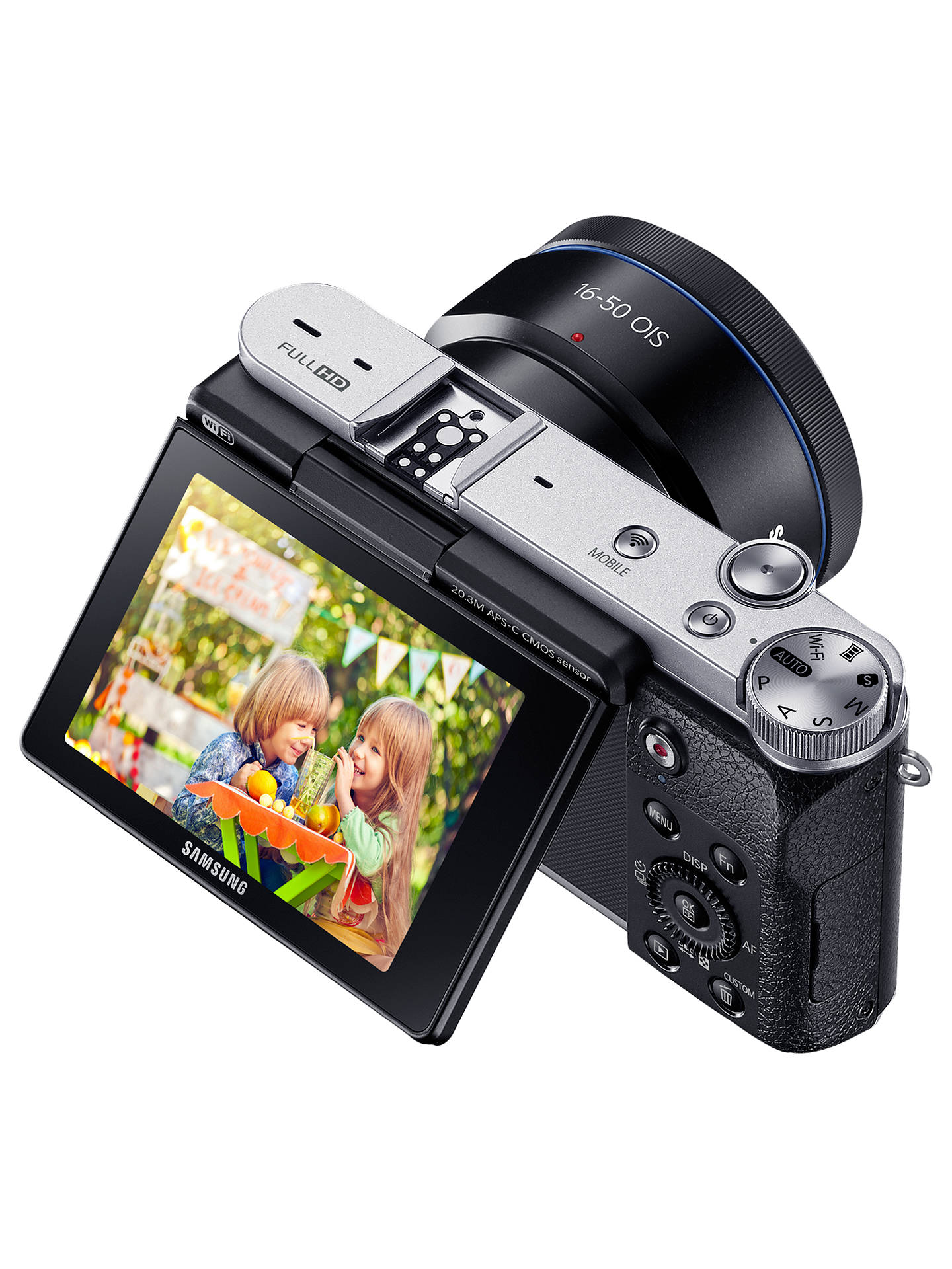Samsung Galaxy NX3000 Compact System Camera with 16-50mm