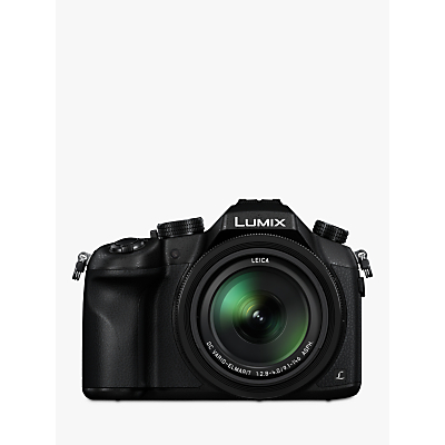 Panasonic Lumix DMC-FZ1000 Bridge Camera, 4K Ultra HD, 20.1MP, 16x Optical Zoom, Wi-Fi, NFC, OLED Viewfinder, 3 Screen