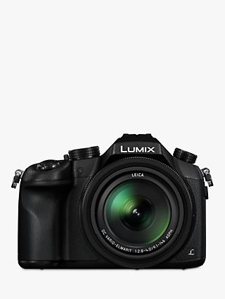 "Panasonic Lumix DMC-FZ1000 Bridge Camera, 4K Ultra HD, 20.1MP, 16x Optical Zoom, Wi-Fi, NFC, OLED Viewfinder, 3"" Screen"
