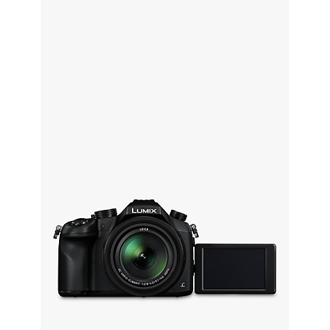 "Buy Panasonic Lumix DMC-FZ1000 Bridge Camera, 4K Ultra HD, 20.1MP, 16x Optical Zoom, Wi-Fi, NFC, OLED Viewfinder, 3"" Screen Online at johnlewis.com"