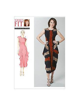 Plus Size Vogue Sewing Patterns John Lewis Partners