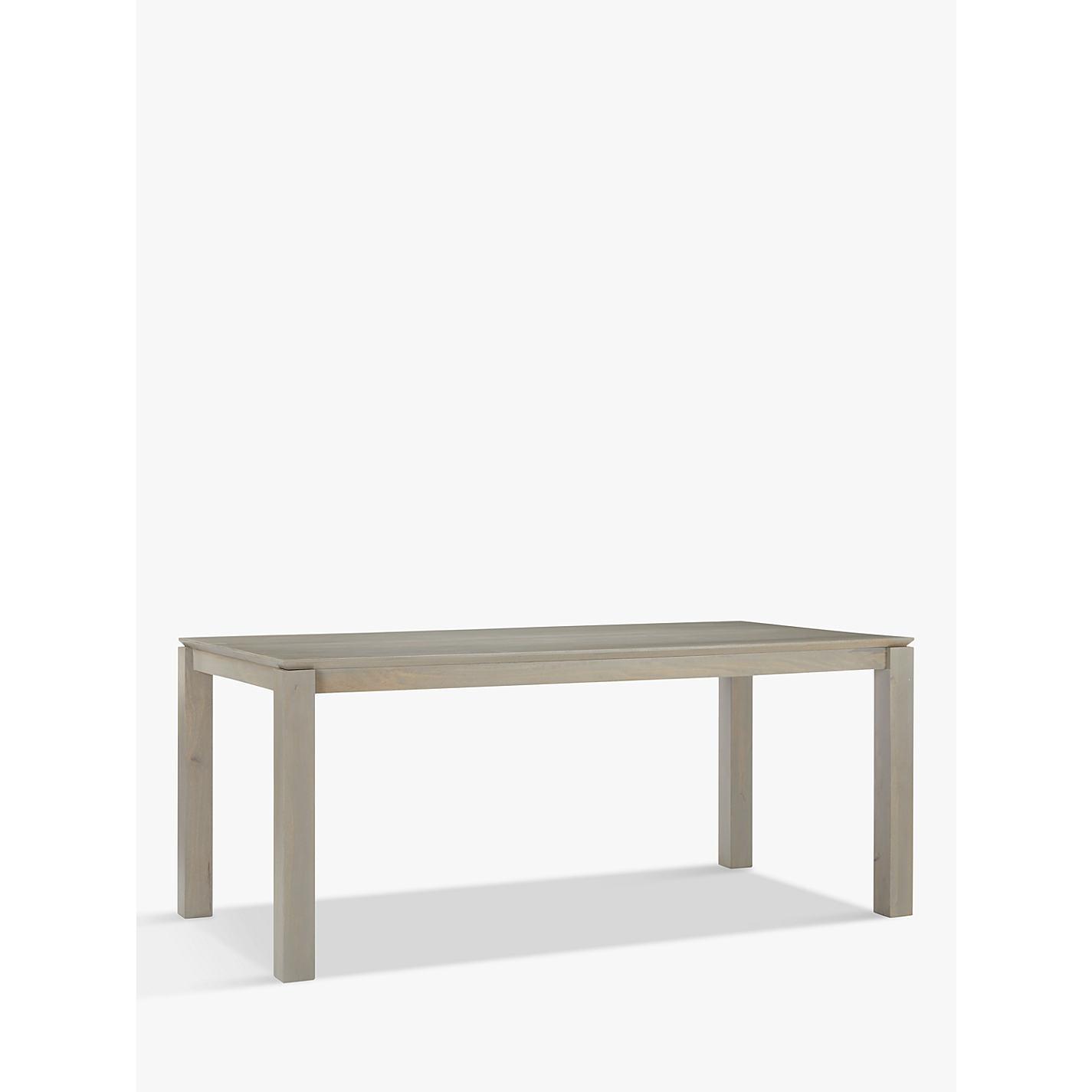 Buy John Lewis Asha Wooden 6 8 Seater Dining Table