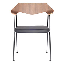 Buy Case Robin Day 675 Chair, Walnut and Black Frame Online at johnlewis.com