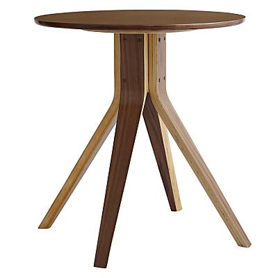 John Lewis Radar 2 Seater Dining Table, Walnut
