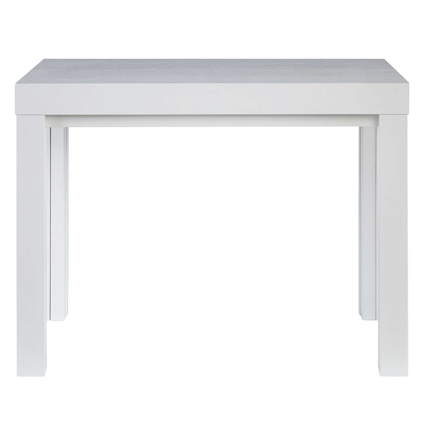 Delightful ... BuyJohn Lewis Cosmo 12 Seater Extending Console And Dining Table, White  Online At Johnlewis ...