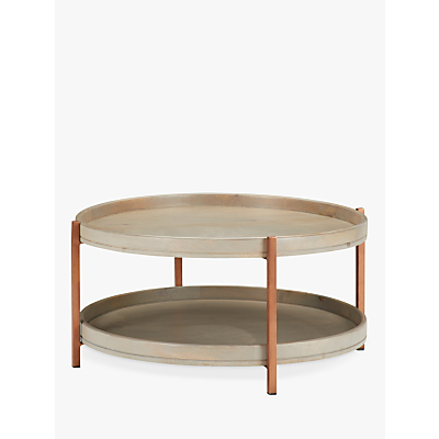John Lewis & Partners Asha Iron Tray Coffee Table