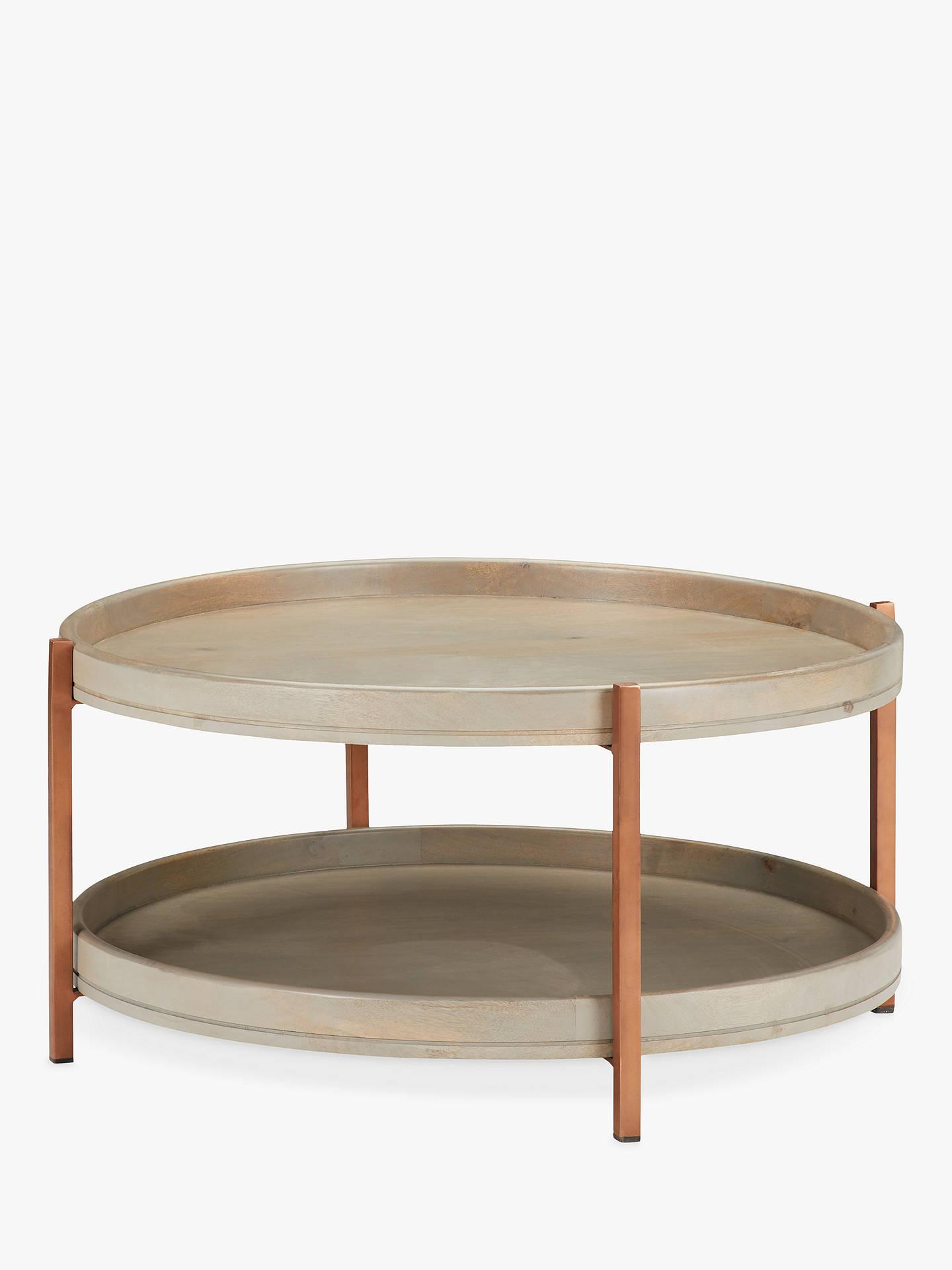 John Lewis Partners Asha Iron Tray Coffee Table