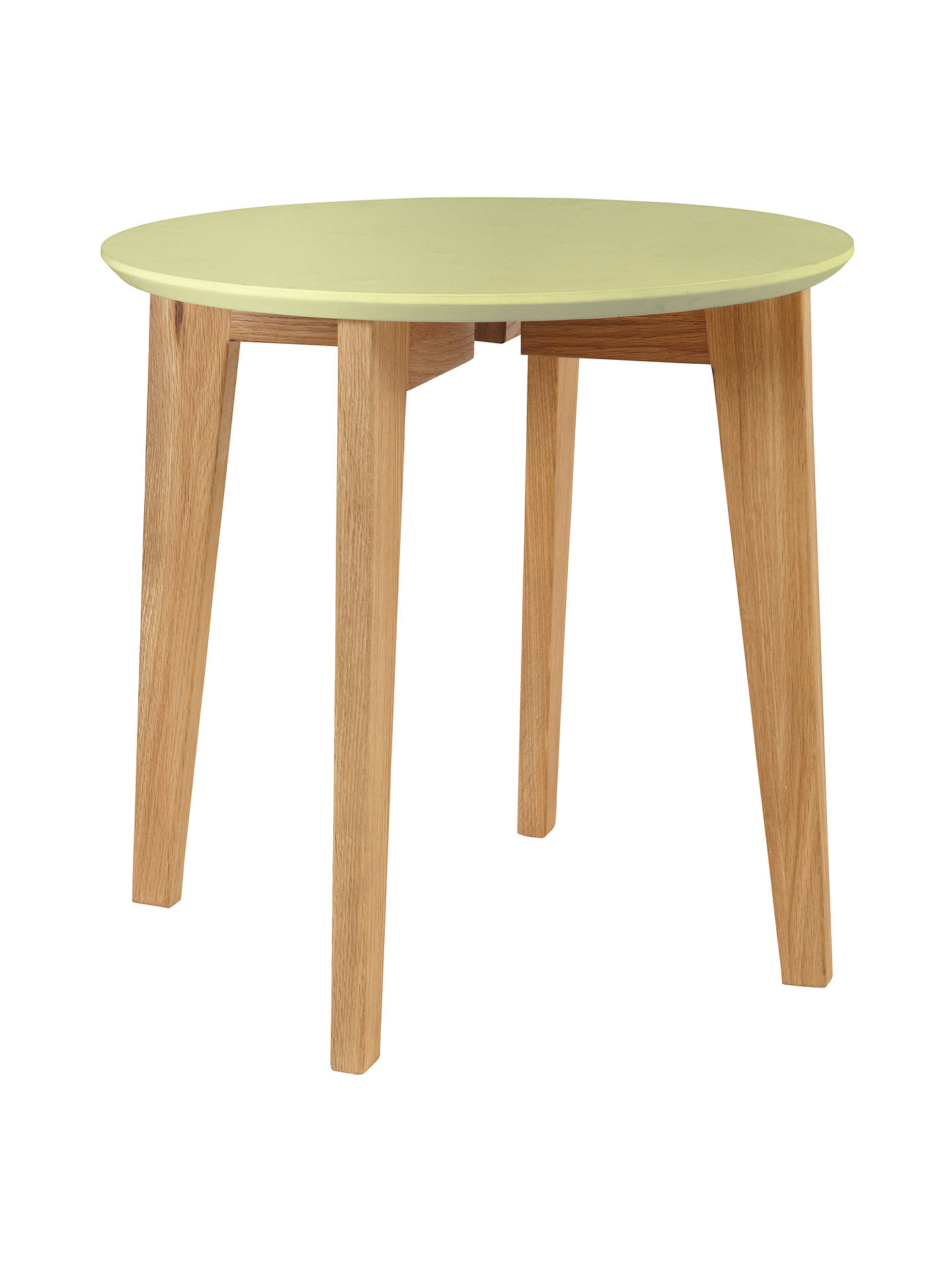 Buy House by John Lewis Abin Side Table, Yellow Online at johnlewis.com