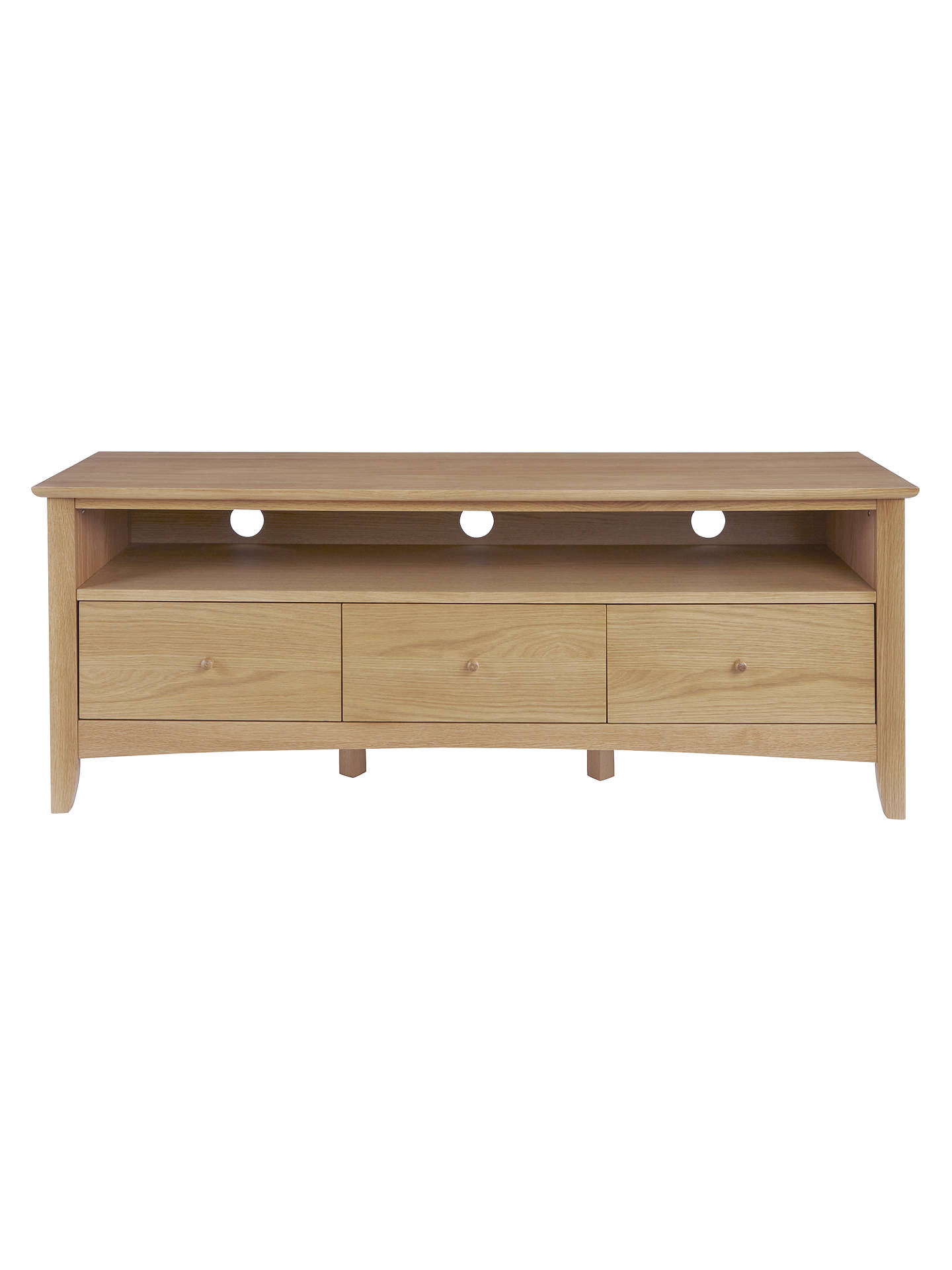 BuyJohn Lewis & Partners Alba TV Stand, Oak Online at johnlewis.com