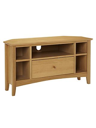 John Lewis & Partners Alba Corner TV Stand for TVs up to 41""