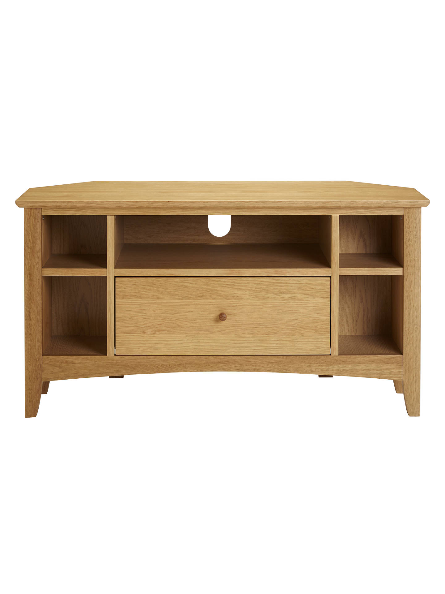 competitive price c5876 e5d4f John Lewis & Partners Alba Corner TV Stand for TVs up to 41
