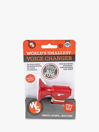 World's Smallest Voice Changer, Assorted