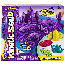Buy Wacky-Tivities Kinetic Sand Sand Box & Molds Online at johnlewis.com