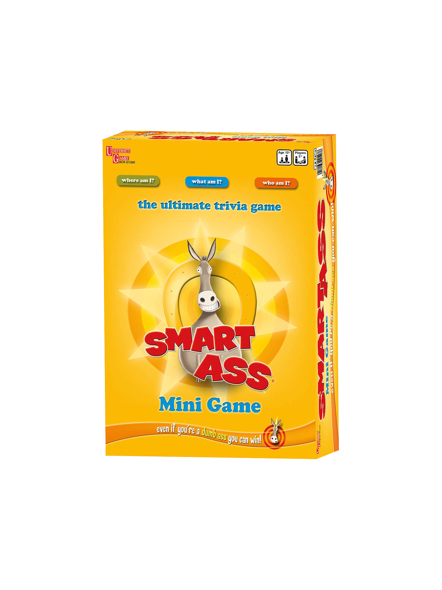 BuySmart Ass Mini Game Online at johnlewis.com