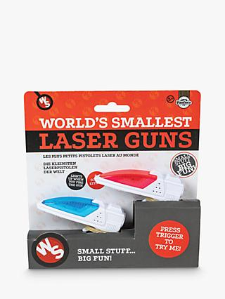 World's Smallest Laser Gun