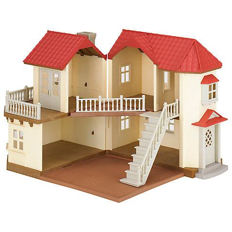 buy sylvanian families beechwood hall john lewis. Black Bedroom Furniture Sets. Home Design Ideas