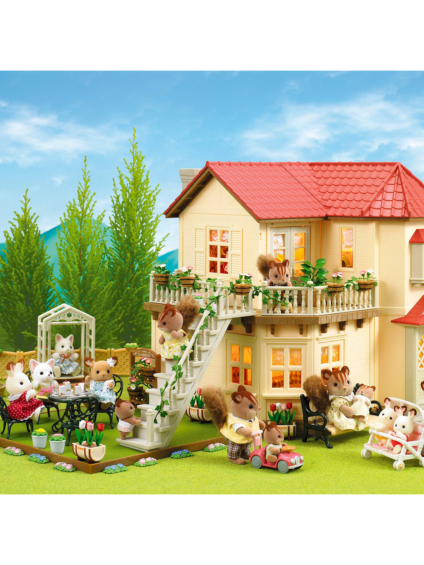 Buy Sylvanian Families Beechwood Hall Online at johnlewis.com