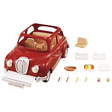 Buy Sylvanian Families Saloon Car & Picnic Set Online at johnlewis.com