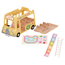 Buy Sylvanian Families Nursery Double Decker Bus Online at johnlewis.com