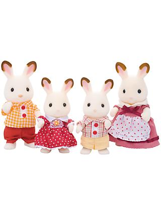 Easter gifts shop easter eggs decorations at john lewis sylvanian families chocolate rabbit family negle Choice Image