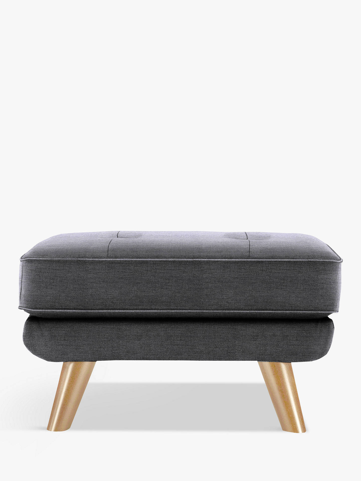 BuyG Plan Vintage The Fifty Three Footstool, Tonic Charcoal Online at johnlewis.com