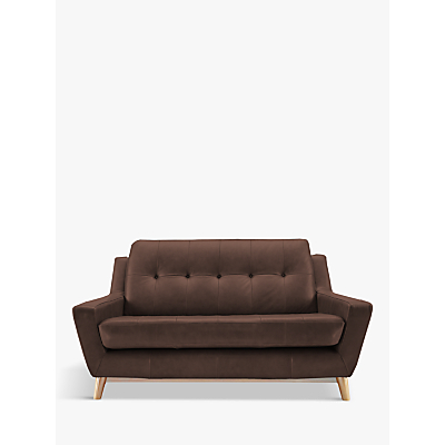 G Plan Vintage The Fifty Three Small 2 Seater Leather Sofa