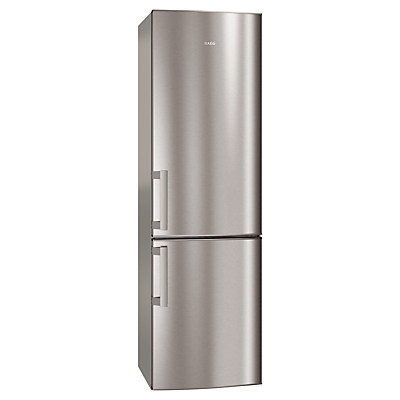 AEG S53520CTX2 Fridge Freezer A Energy Rating 60cm Wide Stainless Steel