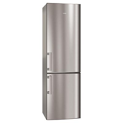 AEG S53520CTX2 Fridge Freezer, A++ Energy Rating, 60cm Wide, Stainless Steel