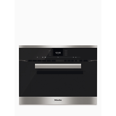 Image of Miele H6600BM PureLine Built-In Combination Microwave
