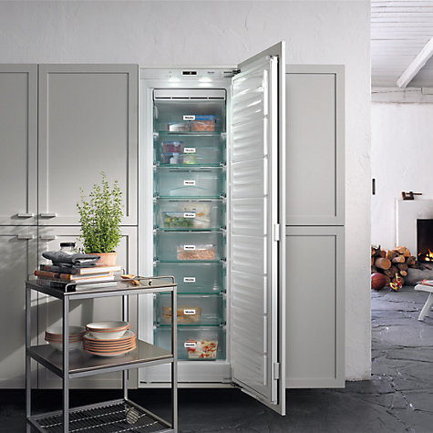 Buy Miele FNS 37402 I Tall Integrated Freezer, A++ Energy Rating, 56-57cm Wide Online at johnlewis.com