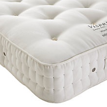 Buy Vispring Wembury Superb Mattress, Medium, Extra Long Single Online at johnlewis.com