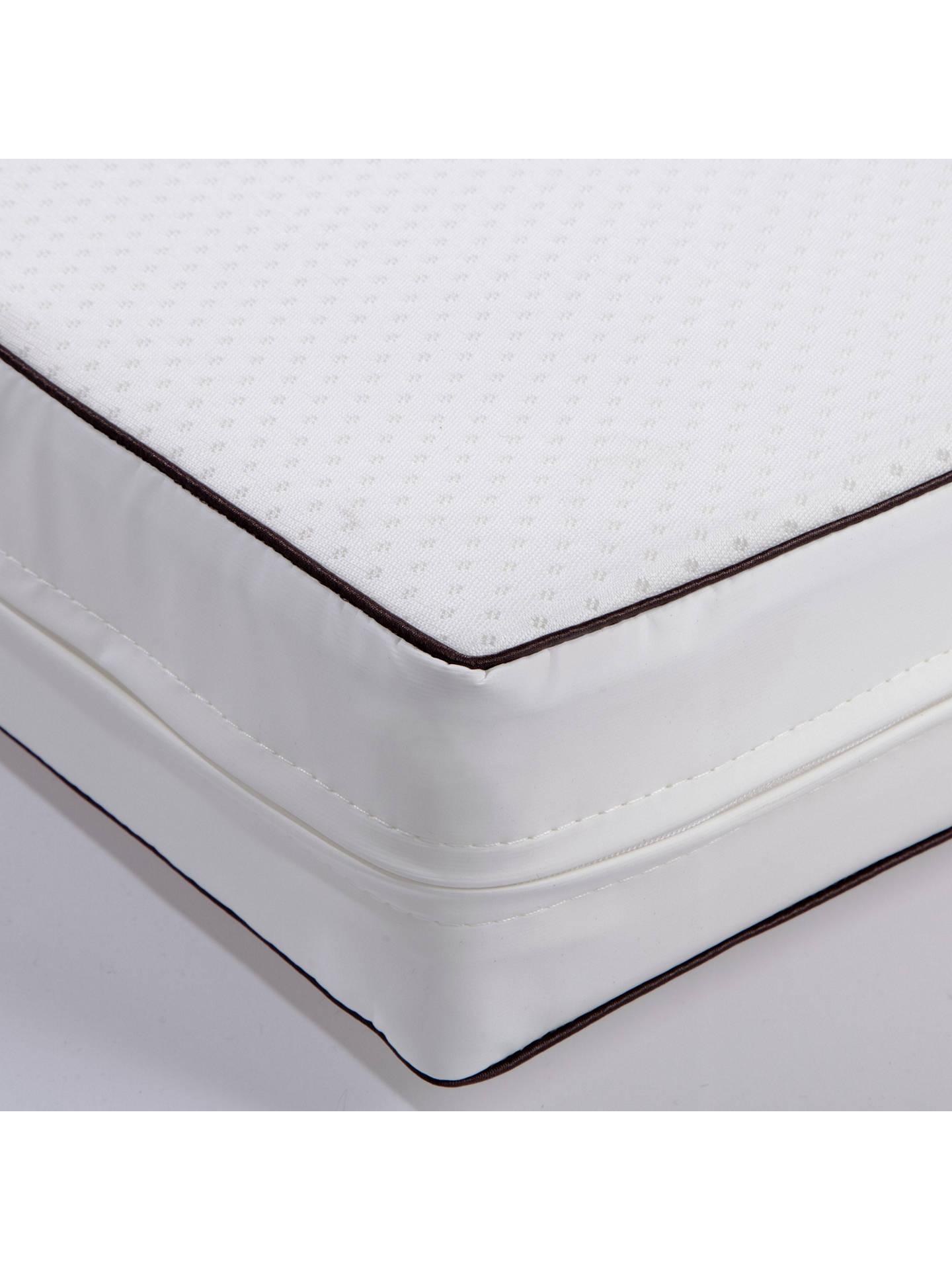 best service 1d5d1 f689e John Lewis & Partners Spring Cotbed Mattress, 140 x 70cm