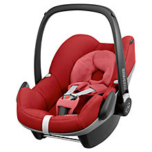 Buy Maxi-Cosi Pebble Group 0+ Baby Car Seat, Red Rumour Online at johnlewis.com