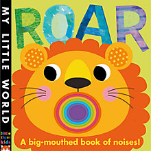 Buy Roar: A Big Mouthed Book of Noises Online at johnlewis.com