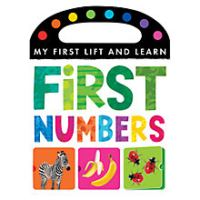 Buy My First Lift & Learn: First Numbers Book Online at johnlewis.com
