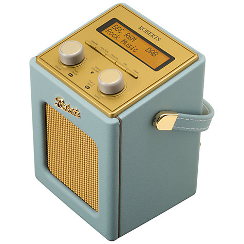Buy ROBERTS Revival Mini DAB/FM Digital Radio Online at johnlewis.com