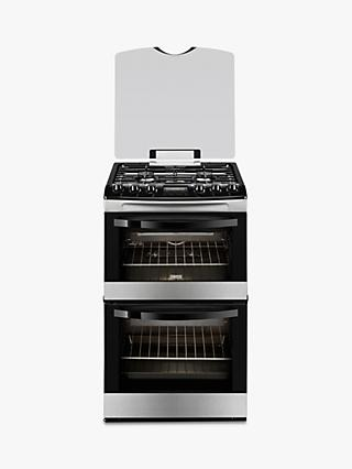 Zanussi ZCG43200XA Gas Cooker, Stainless Steel